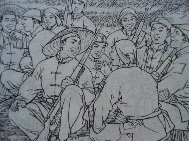 40开本彩绘精品:《刘胡兰》创作小组编绘图片