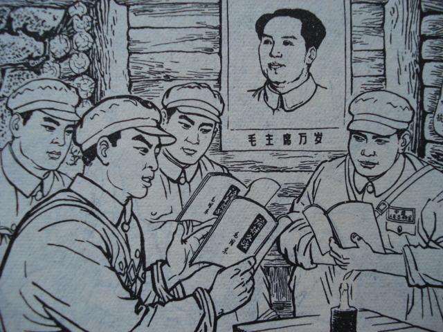 解放军简笔画-玉面杰的连趣博客