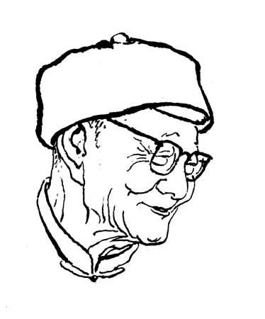 钟敬文先生(1903,3,20-2002,1,10)